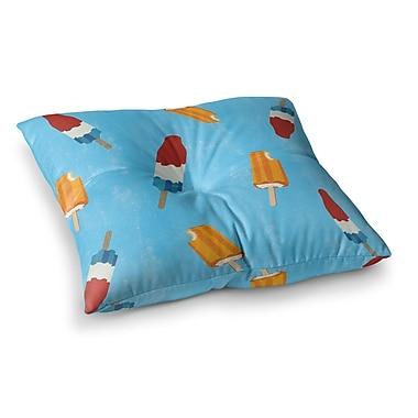 East Urban Home Feels Like Summer Square Floor Pillow; 23'' x 23''