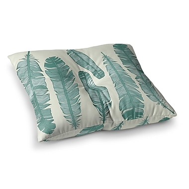 East Urban Home Balsam Feathers Square Floor Pillow; 23'' x 23''