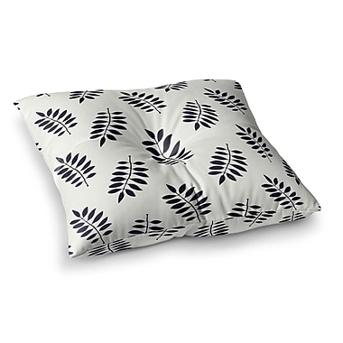 East Urban Home Laurie Baars Pagoda Leaf Small Square Floor Pillow; 23'' x 23''