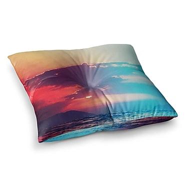 East Urban Home Li Zamperini Summer Square Floor Pillow; 26'' x 26''