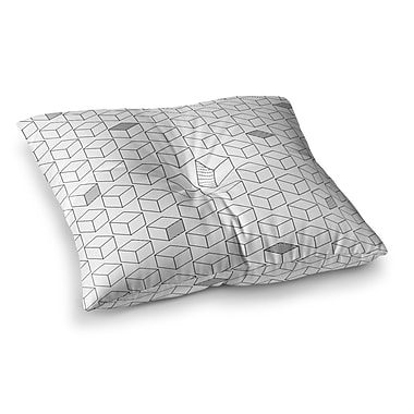 East Urban Home Shade Cubed Square Floor Pillow; 26'' x 26''