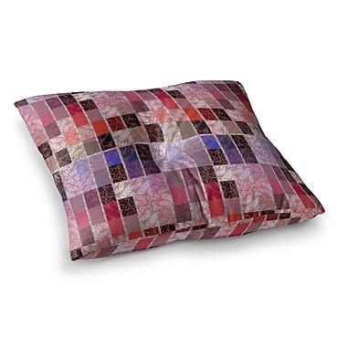 East Urban Home Laura Nicholson Tiles Square Floor Pillow; 23'' x 23''