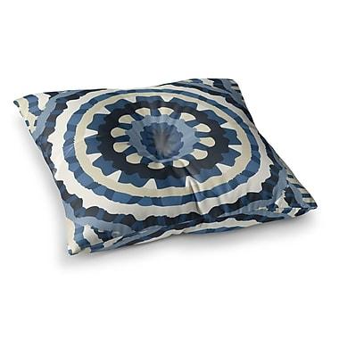 East Urban Home Laura Nicholson Ribbon Mandala Square Floor Pillow; 23'' x 23''