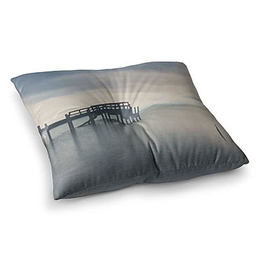 East Urban Home Laura Evans Waiting for The Storm To Pass Square Floor Pillow; 26'' x 26''