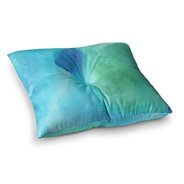 East Urban Home Li Zamperini Marine Square Floor Pillow; 26'' x 26''