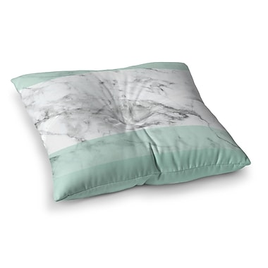 East Urban Home Marble Fade Square Floor Pillow; 26'' x 26''