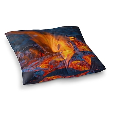 East Urban Home Hot Square Floor Pillow; 23'' x 23''