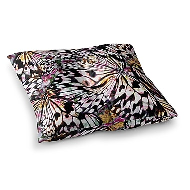 East Urban Home Louise Machado Butterfly Wings Square Floor Pillow; 23'' x 23''