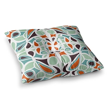 East Urban Home Miranda Mol Stained Glass Square Floor Pillow; 26'' x 26''