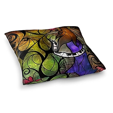 East Urban Home Mandie Manzano So This Is Love Square Floor Pillow; 23'' x 23''