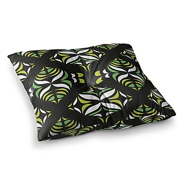 East Urban Home Miranda Mol Retro Train Square Floor Pillow; 26'' x 26''