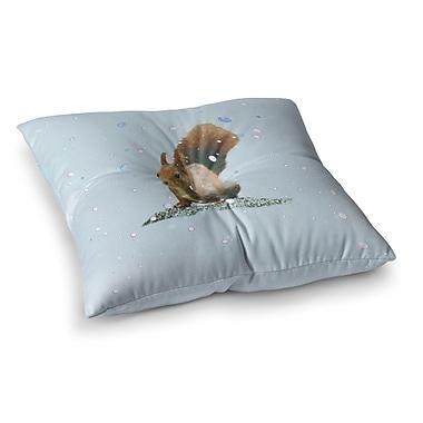 East Urban Home Monika Strigel Squirrel Square Throw Pillow; 23'' x 23''