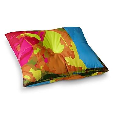 East Urban Home Matthias Hennig Colored Plastic Square Floor Pillow; 23'' x 23''