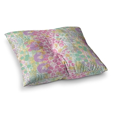 East Urban Home Chickaprint Impression Mix Square Floor Pillow; 26'' x 26''