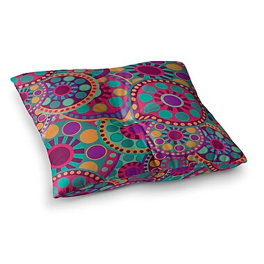 East Urban Home Nika Martinez Valencia Square Floor Pillow; 23'' x 23''