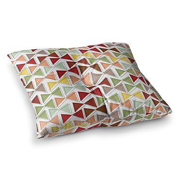 East Urban Home Michelle Drew Bowties Square Floor Pillow; 23'' x 23''