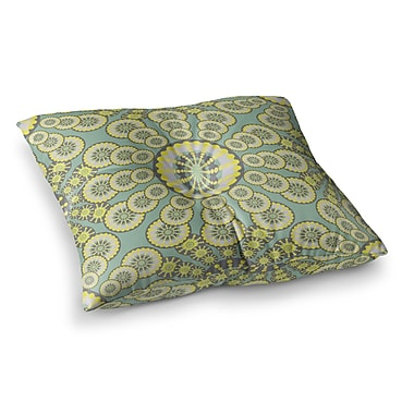 East Urban Home Miranda Mol Equinox Square Floor Pillow; 23'' x 23''