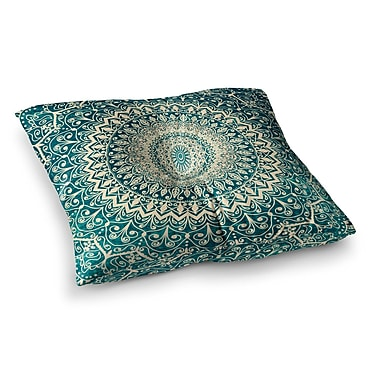 East Urban Home Nika Martinez Nature Boho Mandala Square Floor Pillow; 23'' x 23''
