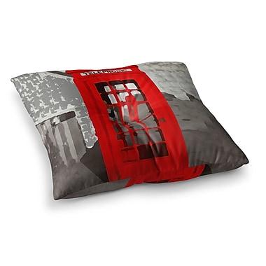 East Urban Home Oriana Cordero London Square Floor Pillow; 23'' x 23''