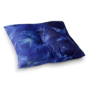 East Urban Home Nina May Saltwater Diamond Square Floor Pillow; 26'' x 26''