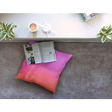 East Urban Home Monika Strigel Fruit Punch Square Throw Pillow; 23'' x 23''