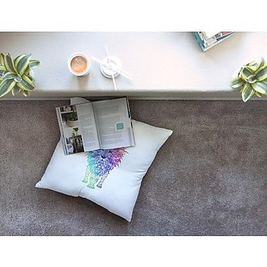 East Urban Home Monika Strigel Lion Square Throw Pillow; 26'' x 26''