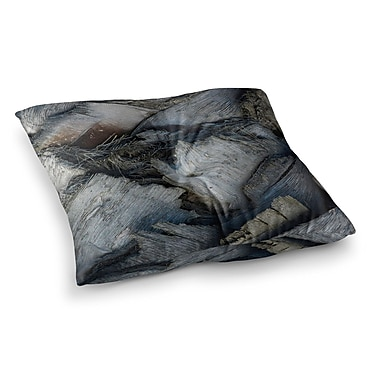 East Urban Home Nick Nareshni Palm Tree Crossover Photography Square Floor Pillow; 26'' x 26''