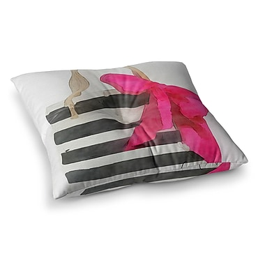 East Urban Home Oriana Cordero French Outing Square Floor Pillow; 23'' x 23''