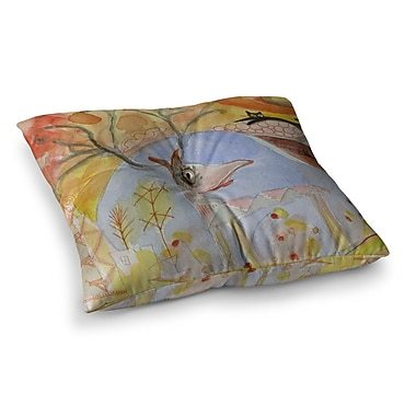 East Urban Home Marianna Tankelevich Promise of Magic Square Floor Pillow; 23'' x 23''