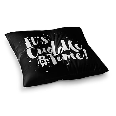 East Urban Home Nick Atkinson Cuddle Time Square Floor Pillow; 26'' x 26''