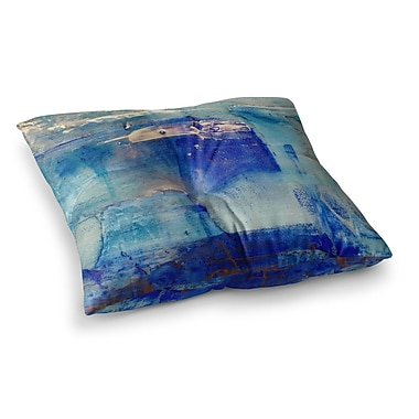 East Urban Home Malia Shields the 2 Painting Square Floor Pillow; 26'' x 26''