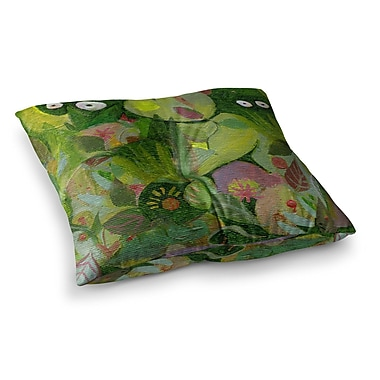 East Urban Home Marianna Tankelevich Jungle Square Floor Pillow; 26'' x 26''
