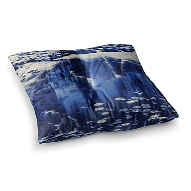 East Urban Home Nina May Extract Digital Square Floor Pillow; 23'' x 23''