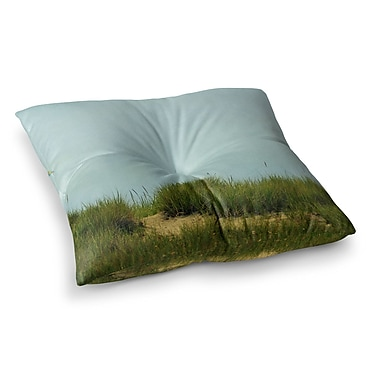 East Urban Home Robin Dickinson Hand in Hand Square Floor Pillow; 23'' x 23''