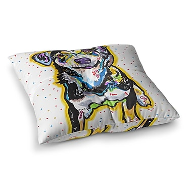 East Urban Home Rebecca Fischer Jasper Square Floor Pillow; 26'' x 26''