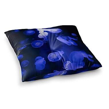 East Urban Home Juan Paolo Jellyfish Square Floor Pillow; 23'' x 23''