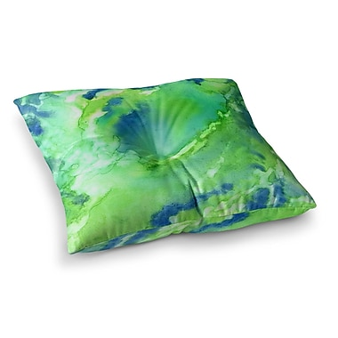 East Urban Home Rosie Brown Touch of Square Floor Pillow; 23'' x 23''
