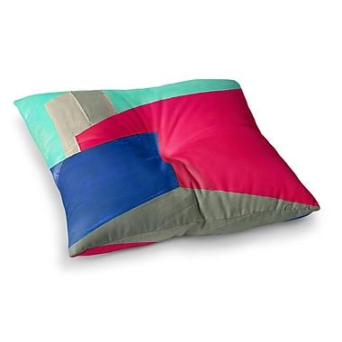East Urban Home Oriana Cordero Corner Geometry Square Floor Pillow; 23'' x 23''