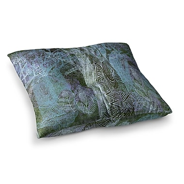 East Urban Home Marianna Tankelevich Wild Forest Trees Square Floor Pillow; 26'' x 26''