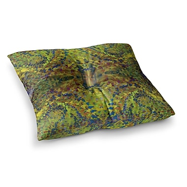 East Urban Home Nikposium Jacket Abstract Square Floor Pillow; 26'' x 26''
