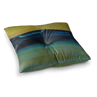 East Urban Home Nathan Gibbs UCLA Square Floor Pillow; 23'' x 23''