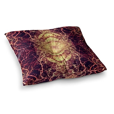 East Urban Home Pia Schneider Burning Roots IV Celestial Square Floor Pillow; 23'' x 23''