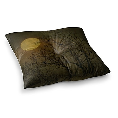 East Urban Home Robin Dickinson Starry Night Square Floor Pillow; 23'' x 23''