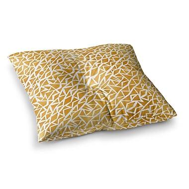 East Urban Home Pom Graphic Design Tribal Origin Square Floor Pillow; 23'' x 23''