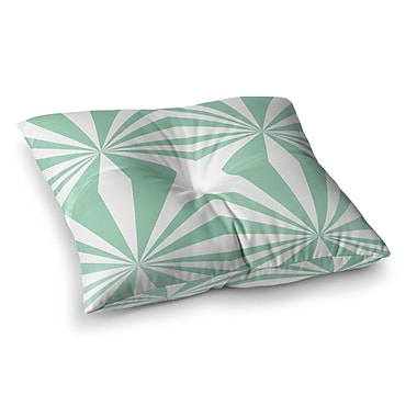 East Urban Home Project M Starburst Square Floor Pillow; 23'' x 23''