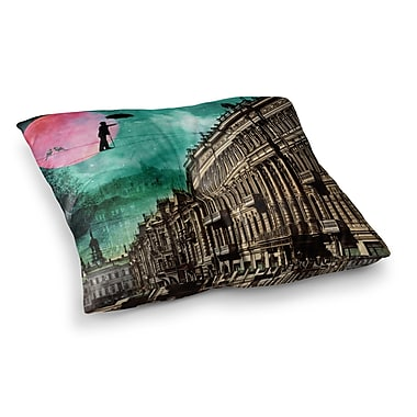 East Urban Home Suzanne Carter Moonlight Stroll Surreal Square Floor Pillow; 26'' x 26''