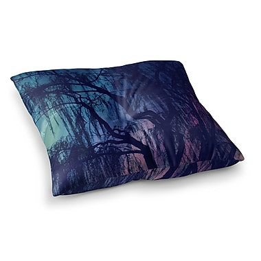 East Urban Home Robin Dickinson Weeping Tree Square Floor Pillow; 23'' x 23''