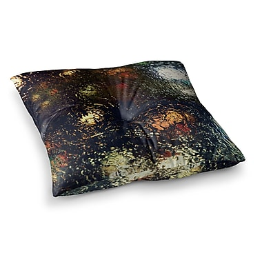 East Urban Home Robin Dickinson Blinded Water Square Floor Pillow; 23'' x 23''