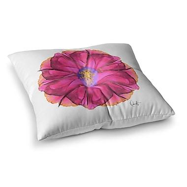 East Urban Home Oriana Cordero Athena-Flower Lavender Square Floor Pillow; 26'' x 26''