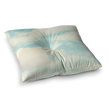East Urban Home Sylvia Cook Clouds Square Floor Pillow; 23'' x 23''